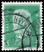 Stamp printed in Germany shows Paul von Hindenburg — Stock Photo