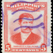 Stamp printed in Philippines shows Marcelo H.Del Pilar — Stock Photo #62704869