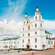 The cathedral of Holy Spirit in Minsk, Belarus — Stock Photo #52774913