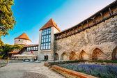 The former prison tower Neitsitorn in old Tallinn, Estonia — Stock Photo