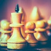 下象棋的领导者 — 图库照片