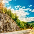 Norway, Road In Norwegian Mountains — Stock Photo #54001995