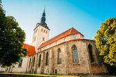 Medieval Former St. Nicholas Church In Tallinn, Estonia — Stock Photo