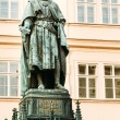 Statue Of The Czech King Charles Iv In Prague, Czech Republic — Stock Photo #56313089