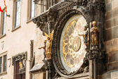 Astronomical Clock In Prague, Czech Republic. Close Up Photo — Stock Photo