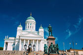 Helsinki Cathedral, Helsinki, Finland. Summer Sunny Day — Stock Photo
