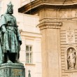 Statue Of The Czech King Charles Iv In Prague, Czech Republic — Stock Photo #60549967
