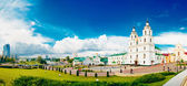 The Cathedral Of Holy Spirit In Minsk - The Main Orthodox Church — Stock Photo