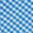 Natural Plaid Fabric Abstract Background Texture, Blue And White — Stock Photo #62108257