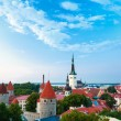 Cityscape Old City Town Tallinn In Estonia — Stock Photo #62759875