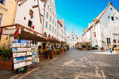 Streets And Old Town Architecture Estonian Capital, Tallinn, Est — Stockfoto
