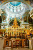 Interior Of Belarussian Orthodox Church Cathedral of St. Peter a — Stock Photo