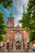 St. Johns Church. Johannes Church -  Famous Landmark In Helsinki — Stock Photo