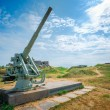 Historic cannon at Suomenlinna, Sveaborg maritime fortress In He — Stock Photo #79117722