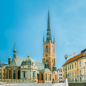 Building Of Riddarholm Kyrka Riddarholm Church In Stockholm, Sweden — Stock Photo