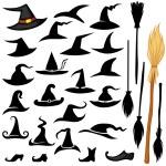 Halloween hat set — Stock Vector #54831379