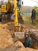 Kazıcı — Stok fotoğraf