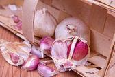 Garlic  — Zdjęcie stockowe
