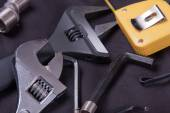 Plumbing tools — Stock Photo