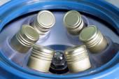 Centrifuge tubes — Stock Photo