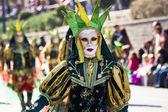 Girl dressed in carnival — Stock Photo