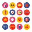 Set of sport icons. — Stock Vector #52220301