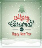 старинные рождественские открытки. — Cтоковый вектор