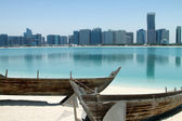 Abu Dhabi Beach — Stock Photo