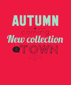 Autumn new collection. Best time to buy. Special deal. — Vecteur