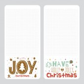 Have a holly jolly Christmas. — Stock Vector