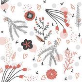 Padrão sem emenda floral — Vetorial Stock