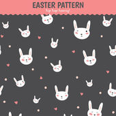 Happy Easter pattern — Stock Vector