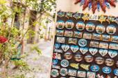 Italian magnets — Stock Photo