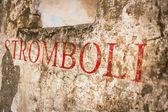Stromboli — Foto de Stock