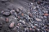 Vulcanic stones texture — Stock Photo