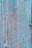 Blue painted wooden background — Stock Photo