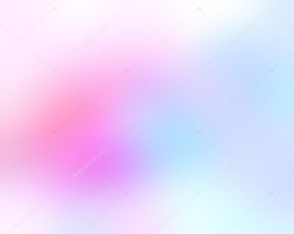 Light Blue Pink Combination On A White Blur Background