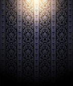 Ciemna tapeta i światło punktowe — Zdjęcie stockowe