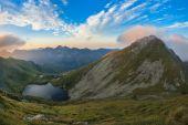 Capra lake. Fagaras Mountains,Romania — Stock Photo