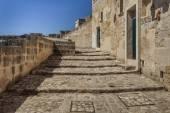 Street in Matera, Italy — Stock Photo