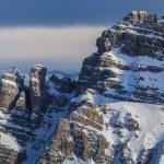 Winter mountain landscape in Austria — Stock Photo #63207587