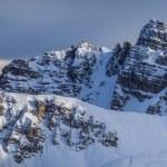 Winter mountain landscape in Austria — Stock Photo #63606287