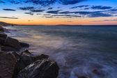 Sunrise beach — Stockfoto