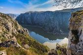 The Danube Gorges, Romania — Stock Photo
