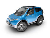 Offroad car concept. My own design. — Stock Photo
