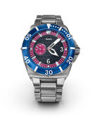 Mechanical wrist watch. 3D model. My own design — Stock Photo