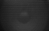 Speaker grill texture black — Stock Photo