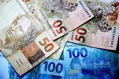 Dinheiro do Brasil — Fotografia Stock