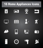 Very Ucesul Home Appliances icons — Stock Vector