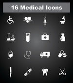 Very Useful Medical icons. EPS-10. — Stock Vector